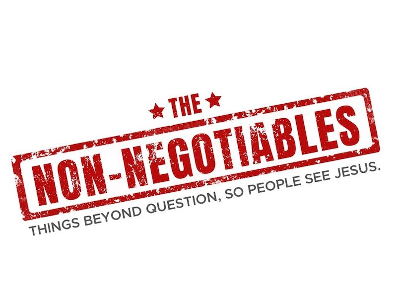 The Non-Negotiables: All People Over Only My Tribe